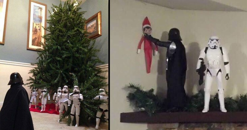 star wars stormtroopers themed christmas