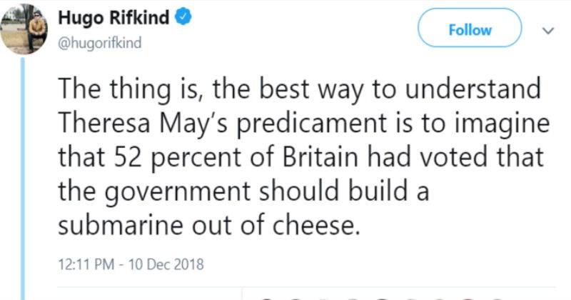 twitter thread explaining brexit