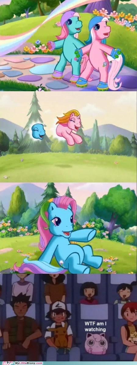 Pokémon wtf jigglypuff my little pony - 7327167232