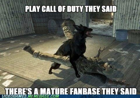 call of duty,immature,fanbases