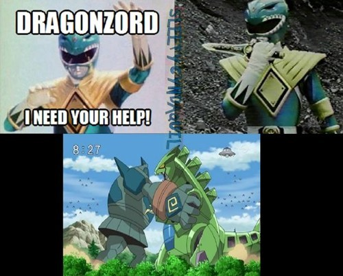 golurk,dragonzord,power rangers