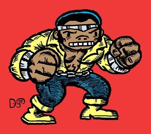 art Luke Cage angry - 7329348352