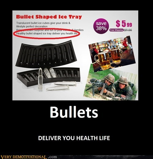 Bullets - Deliver You Health Life