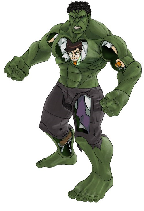 Fan Art superheroes the hulk - 7331026432