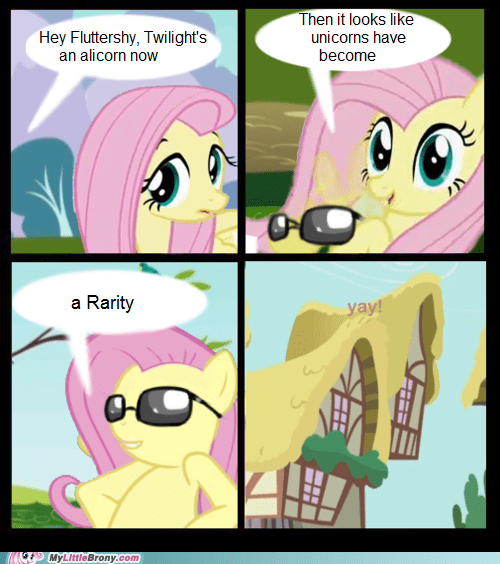 comics,csi,unicorns,rarity,fluttershy