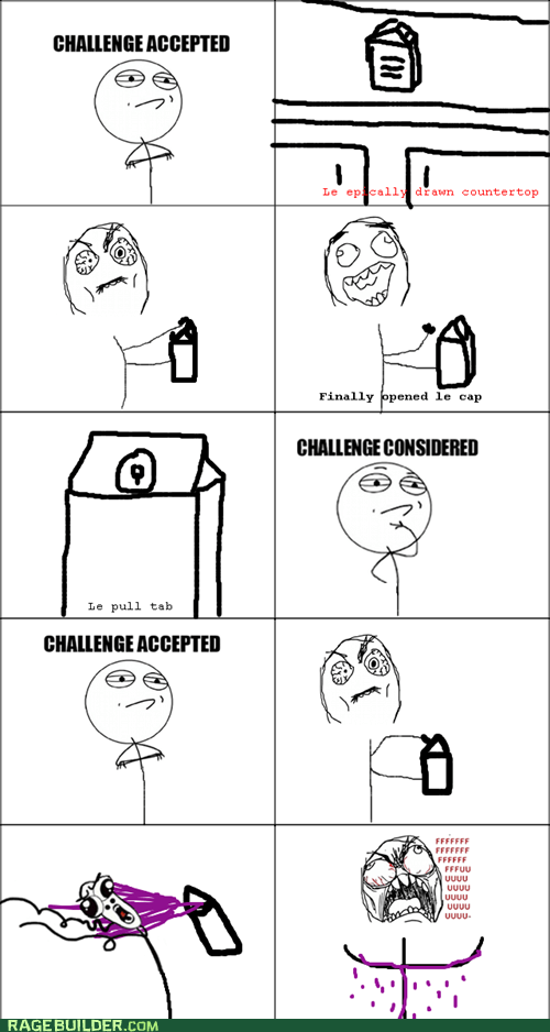 Challenge Accepted,challenge considered,juice,funny