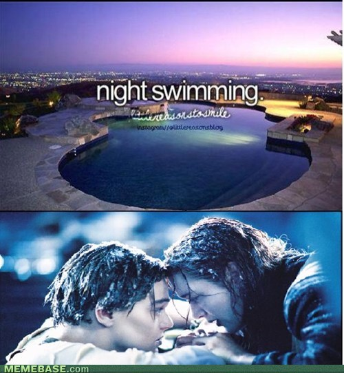 titanic,things boys do,swimming