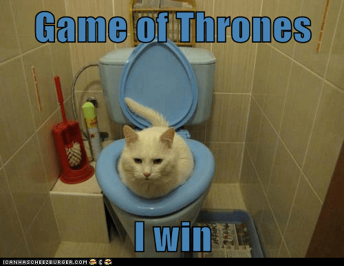 Game of Thrones,toilet