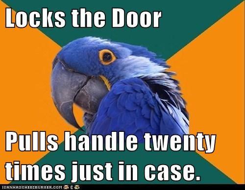 locks Paranoid Parrot - 7333953024