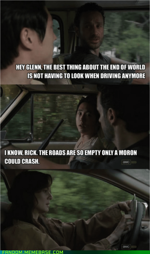driving,lori,The Walking Dead