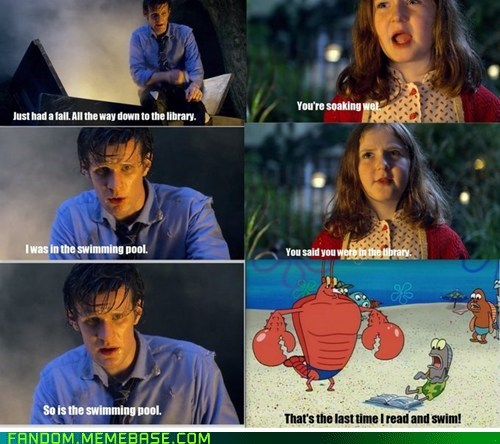 crossover,doctor who,SpongeBob SquarePants