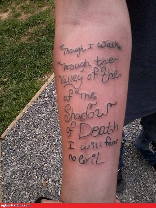 arm tattoos text tattoos bible verses - 7334844160