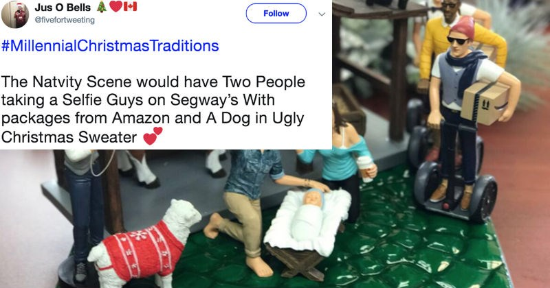 christmas twitter trolling millennials generations social media ridiculous - 7335173