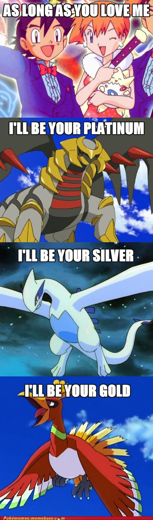 gold justin bieber silver Pokémon platinum - 7335324416