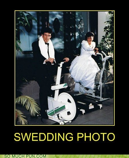 exercise wtf wedding