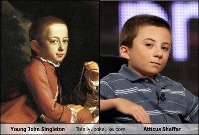 john singleton,atticus shaffer,totally looks like