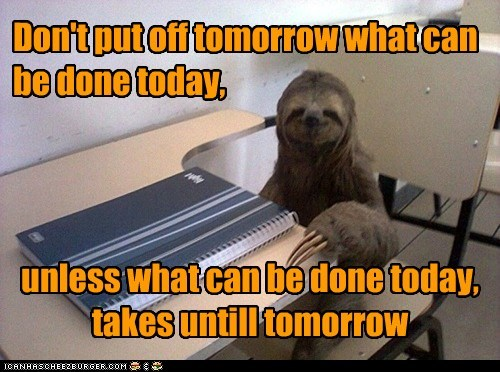 philosophy,sloth