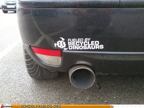 car,dinosaurs,science,Recycled,g rated,School of FAIL