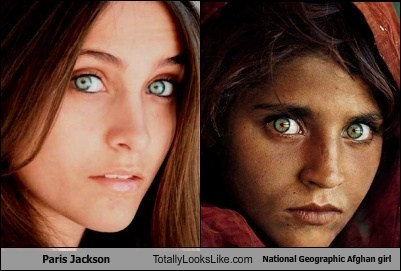 national geographic,paris jackson,totally looks like