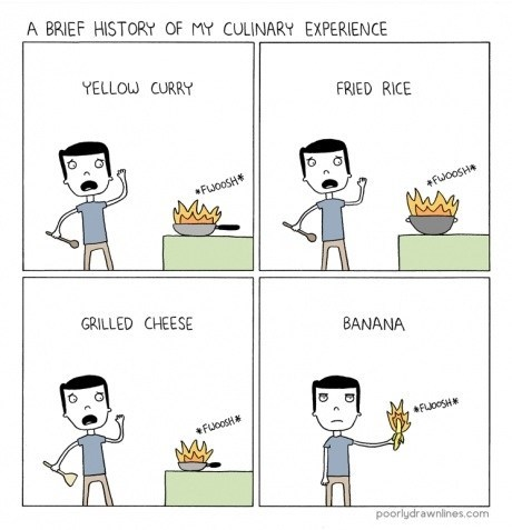 cooking there I fixed it web comics flammable - 7339050240