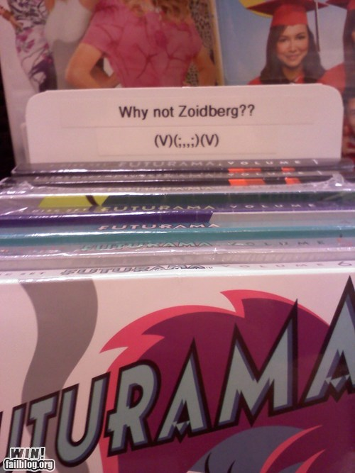 dvds futurama Zoidberg monday thru friday g rated