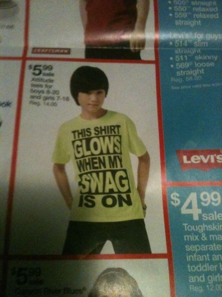 swag glow in the dark poorly dressed g rated - 7340087808