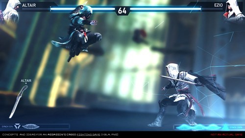 art assassins creed Ubisoft fighting games - 7340099584
