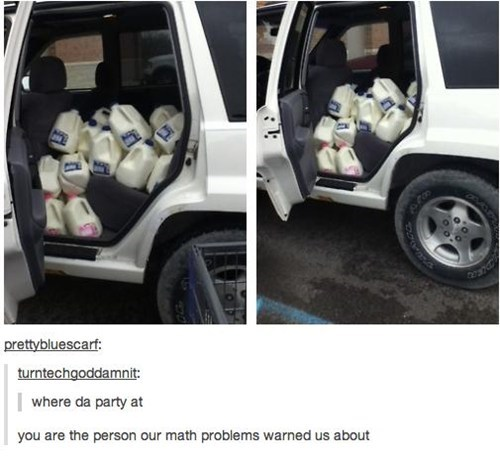 math problems,milk,party time,after 12,g rated