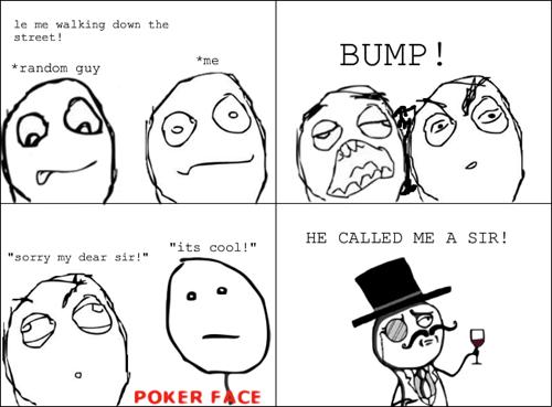 poker face sir - 7340135424