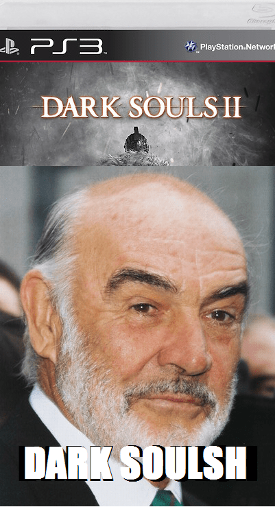 box art,dark souls II,sean connery