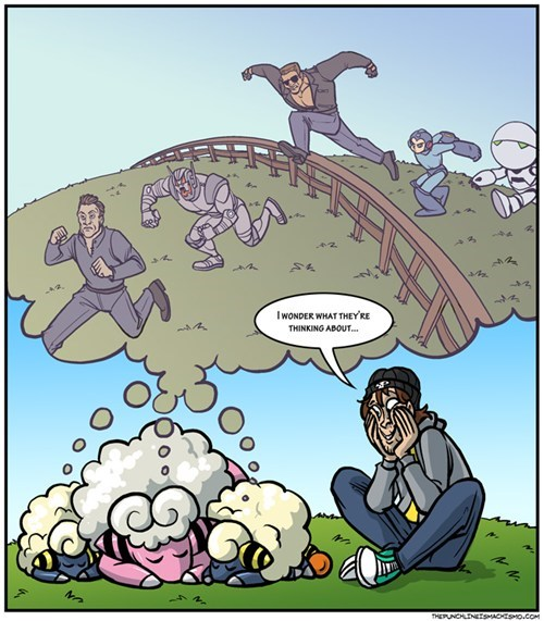 androids dreams do androids dream of electric sheep mareep - 7340486144