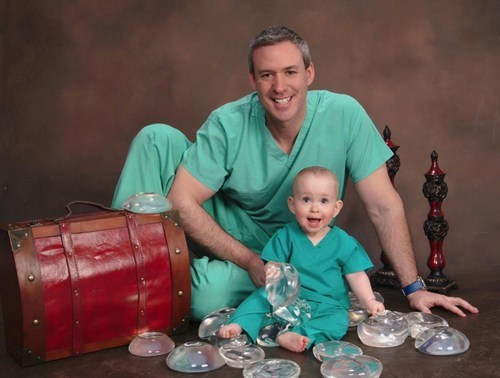 implants,saline,family portrait