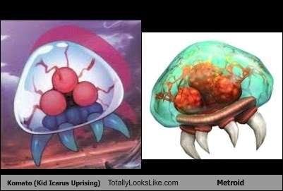 Aliens,metroids,Videogames,totally looks like,komatos