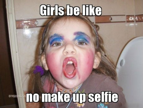 makeup girls selfie - 7340503552
