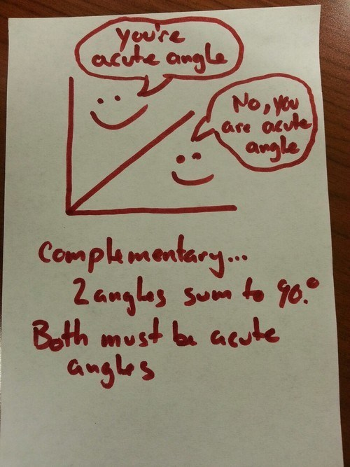 angle acute math complementary g rated School of FAIL - 7340604928