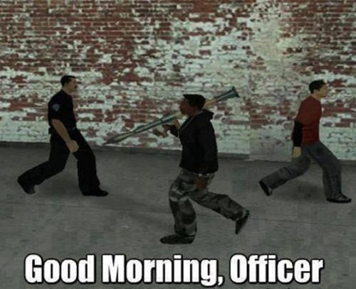 RPGs Grand Theft Auto video game logic seems legit