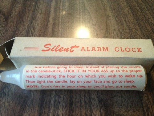 alarm clock instructions warning label - 7340687616