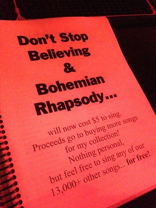 queen,journey,bohemian rhapsody,karaoke,Music FAILS,g rated