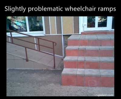 stairs,ramps,wheelchairs