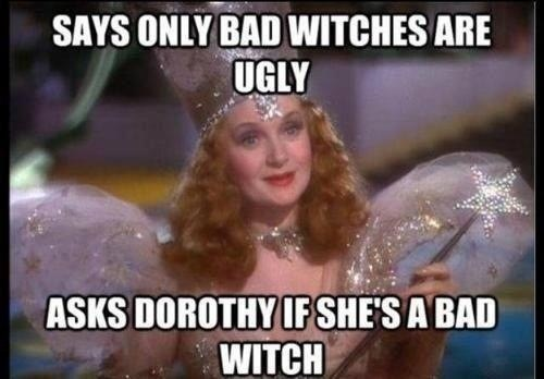 Oh, She's Definitely a Bad Witch