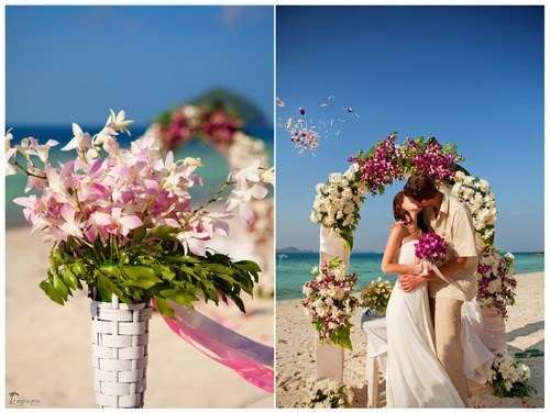 kisses,flowers,beaches