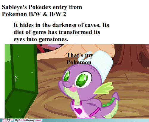 spike Pokémon pokedex entries sableye - 7340950784