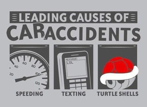 car accidents Mario Kart cars - 7341041664