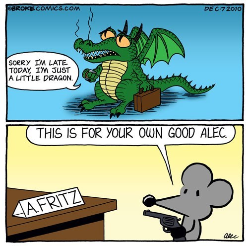 comics dragon tired - 7341094144
