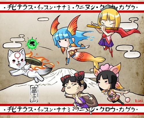 okamiden Fan Art - 7341181952