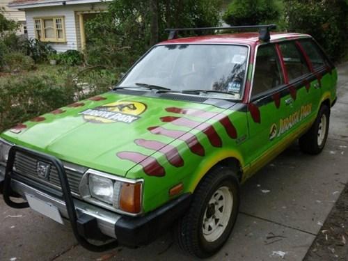 fandom cars jurassic park - 7341353472