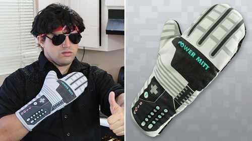 cooking,nerdgasm,kitchen,power glove,nintendo