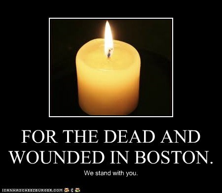 FOR THE DEAD AND WOUNDED IN BOSTON.