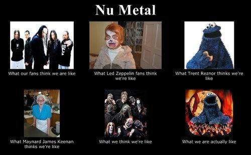 what people think Cookie Monster nu metal - 7341420544