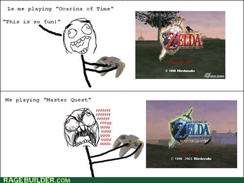master quest link legend of zelda ocarina of time zelda - 7341556736